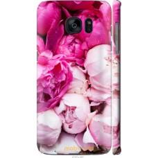Чехол на Samsung Galaxy S7 Edge G935F Розовые цветы