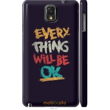 Чехол на Samsung Galaxy Note 3 N9000 Everything will be Ok