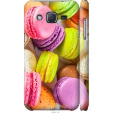 Чехол на Samsung Galaxy J2 J200H Вкусные макаруны
