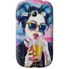 Чехол на Samsung Galaxy Fame S6810 Стильная девушка