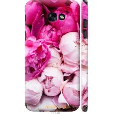 Чехол на Samsung Galaxy A7 (2017) Розовые цветы