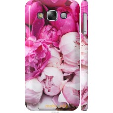 Чехол на Samsung Galaxy E5 E500H Розовые цветы