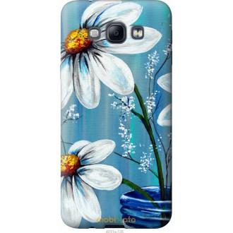 Чехол на Samsung Galaxy A8 A8000 Красивые арт-ромашки