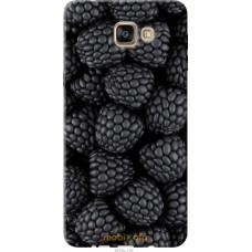 Чехол на Samsung Galaxy A9 Pro Черная ежевика