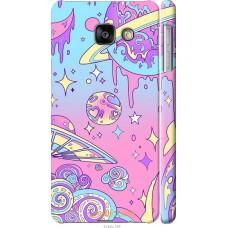 Чехол на Samsung Galaxy A3 (2016) A310F 'Розовый космос