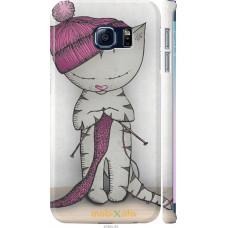 Чехол на Samsung Galaxy S6 Edge G925F Кошка рукодельница