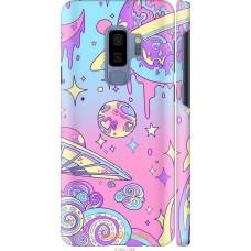 Чехол на Samsung Galaxy S9 Plus 'Розовый космос