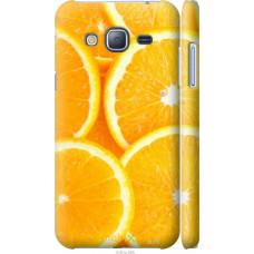 Чехол на Samsung Galaxy J3 Duos (2016) J320H Дольки апельсин