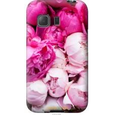 Чехол на Samsung Galaxy Young 2 G130h Розовые цветы