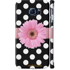 Чехол на Samsung Galaxy S6 Edge G925F Цветочек горошек v2
