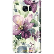 Чехол на Samsung Galaxy S7 Edge G935F Акварель цветы