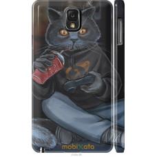 Чехол на Samsung Galaxy Note 3 N9000 gamer cat