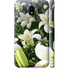 Чехол на Samsung Galaxy J4 2018 Лилии белые