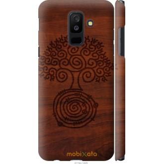 Чехол на Samsung Galaxy A6 Plus 2018 Узор дерева