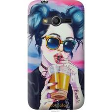 Чехол на Samsung Galaxy Ace 4 Lite G313h Стильная девушка