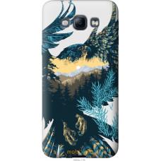 Чехол на Samsung Galaxy A8 A8000 Арт-орел на фоне природы