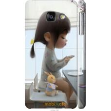 Чехол на Samsung Galaxy A3 (2016) A310F Милая девочка с зайч