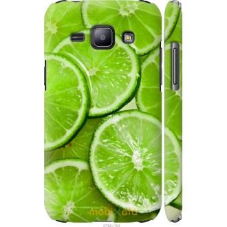 Чехол на Samsung Galaxy J1 J100H Лайм