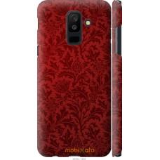 Чехол на Samsung Galaxy A6 Plus 2018 Чехол цвета бордо