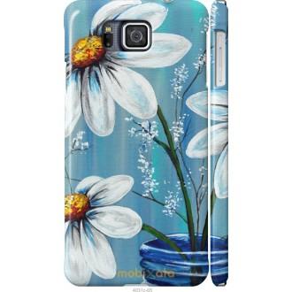 Чехол на Samsung Galaxy Alpha G850F Красивые арт-ромашки