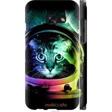 Чехол на Samsung Galaxy A3 (2017) Кот космонавт