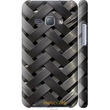 Чехол на Samsung Galaxy J1 (2016) Duos J120H Металлические ф