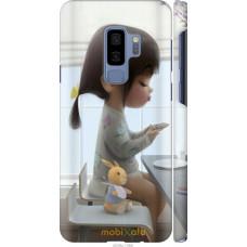 Чехол на Samsung Galaxy S9 Plus Милая девочка с зайчиком