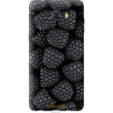 Чехол на Samsung Galaxy C9 Pro Черная ежевика