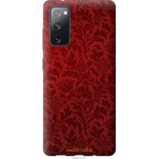 Чехол на Samsung Galaxy S20 FE G780F Чехол цвета бордо