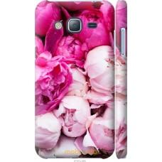 Чехол на Samsung Galaxy J3 Duos (2016) J320H Розовые цветы