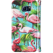 Чехол на Samsung Galaxy S6 Edge G925F Tropical background