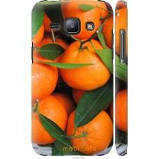 Чехол на Samsung Galaxy J1 J100H Мандарины