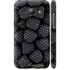 Чехол на Samsung Galaxy J1 J100H Черная ежевика
