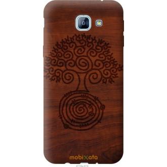 Чехол на Samsung Galaxy A8 (2016) A810 Узор дерева
