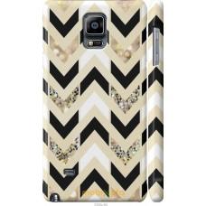 Чехол на Samsung Galaxy Note 4 N910H Шеврон 10