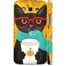 Чехол на Samsung Galaxy Grand 2 G7102 Осенний кот