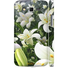Чехол на Samsung Galaxy Grand 2 G7102 Лилии белые