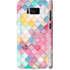 Чехол на Samsung Galaxy S8 Plus Красочная черепица