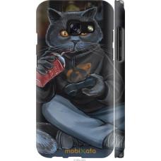 Чехол на Samsung Galaxy A3 (2017) gamer cat