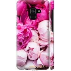 Чехол на Samsung Galaxy A8 2018 A530F Розовые цветы