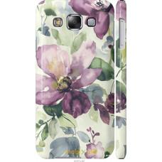 Чехол на Samsung Galaxy E5 E500H Акварель цветы