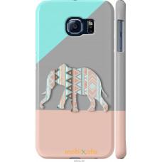 Чехол на Samsung Galaxy S6 G920 Узорчатый слон