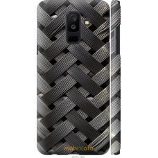 Чехол на Samsung Galaxy A6 Plus 2018 Металлические фоны
