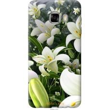 Чехол на Samsung Galaxy C7 C7000 Лилии белые