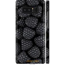Чехол на Samsung Galaxy Note 8 Черная ежевика