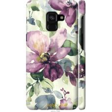 Чехол на Samsung Galaxy A8 2018 A530F Акварель цветы