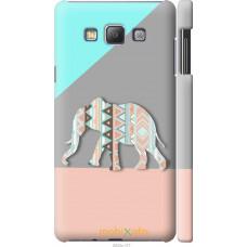 Чехол на Samsung Galaxy A7 A700H Узорчатый слон