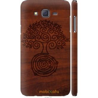 Чехол на Samsung Galaxy J7 J700H Узор дерева