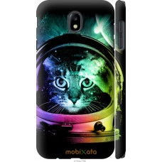 Чехол на Samsung Galaxy J7 J730 (2017) Кот космонавт