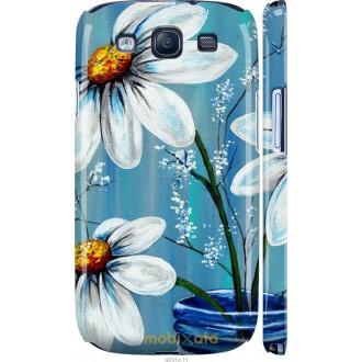 Чехол на Samsung Galaxy S3 i9300 Красивые арт-ромашки